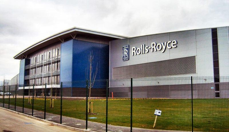 Rolls Royce installs more Solar Belisha Beacons