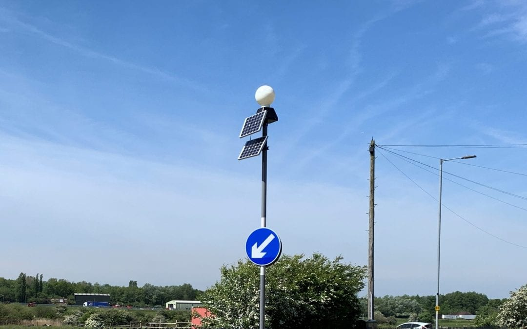 TS2508A Mk3 Refuge Beacon for Wigan Council