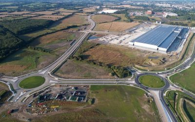 Solar Belisha Beacons supplied to Lidl in Ireland